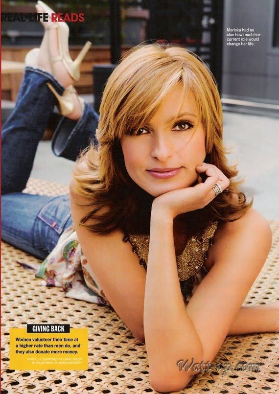 Diary Addict: Mariska Hargitay aka Olivia Benson - Very ...
