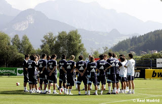 Real Madrid preseason at Irding
