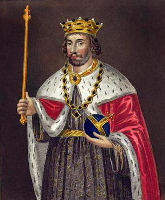 Fist king of england