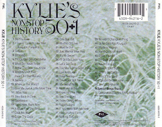 Kylie Minogue - Non Stop History 50+1