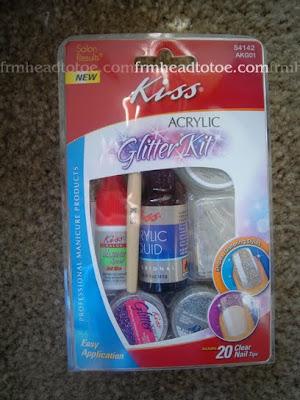 diy kiss acrylic nail kit  nail and manicure trends