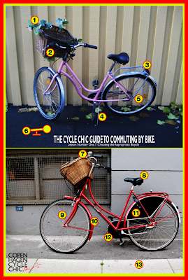 Copenhagen Cycle Chic Guide to Bike Commuting - Choosing a Bicycle