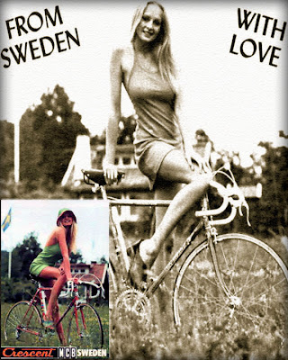 Crescent Cyklar from Sweden With Love