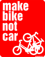 Make Bike Not Car t-shirt