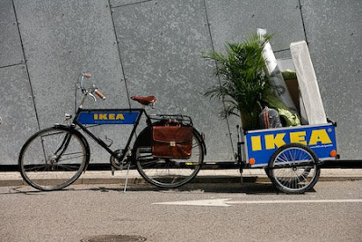 Velorbis bikes for IKEA's new home transport concept