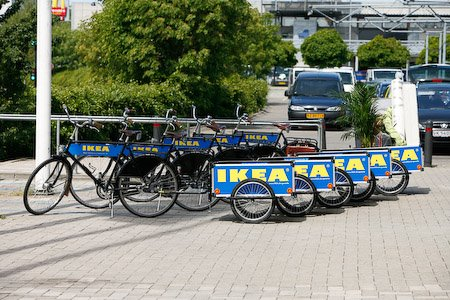 IKEA teams up with Velorbis to loan out bikes and trailers