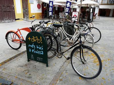 Bike Rack in Ibiza