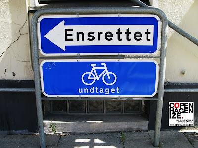 One Way Street - Cyclists Excepted