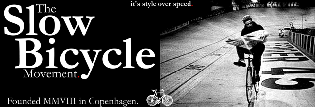 The slow bycicle movement