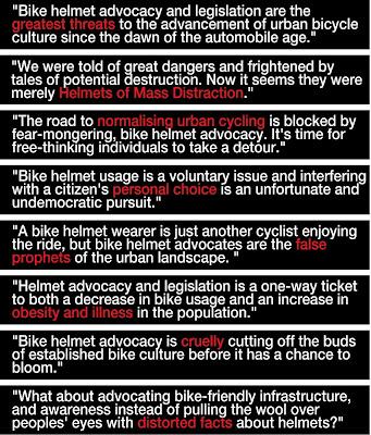 cykelhjelm citater