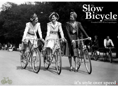 The Slow Bicycle Movement is launched on 02 July 2008