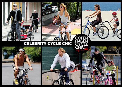Celebrity Cycle Chic
