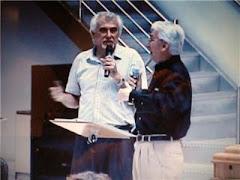 Abril 2007 ministrando junto a Juan Carlos Ortíz en Belo Horizonte (Brasil)