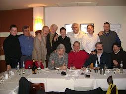 Con pastores amigos en mi cumpleaños (31 Julio 2009)