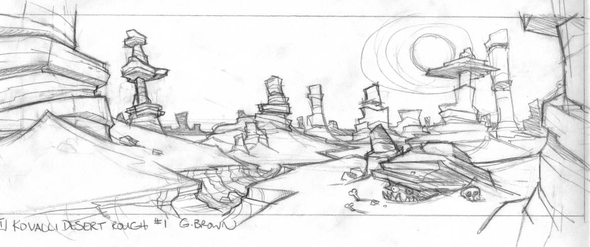 Drawing Desert
