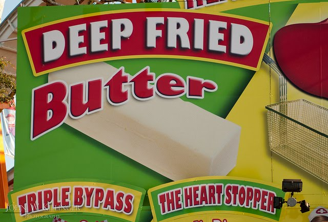 deep fried butter found at your local state fair
