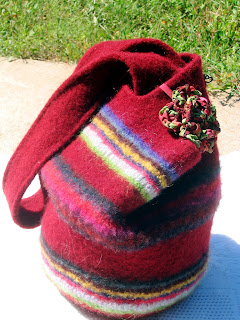 Knitting Pattern Lucy Bag : Yes! Suna Knits!: Lucy Bag for Crochet