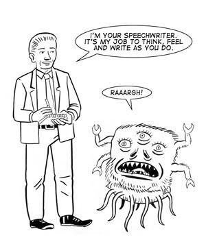 Paul Rainey Comics: Speech Writing The Expert Guide