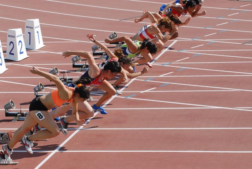 05bd091ab3 Diario de un corredor veterano: Medidas de una Pista de Atletismo. (Zona  Carreras)