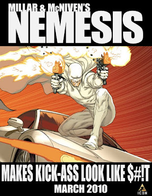 Given that the premise of 'Nemesis' is 'What if Batman were the Joker,' that's saying something.
