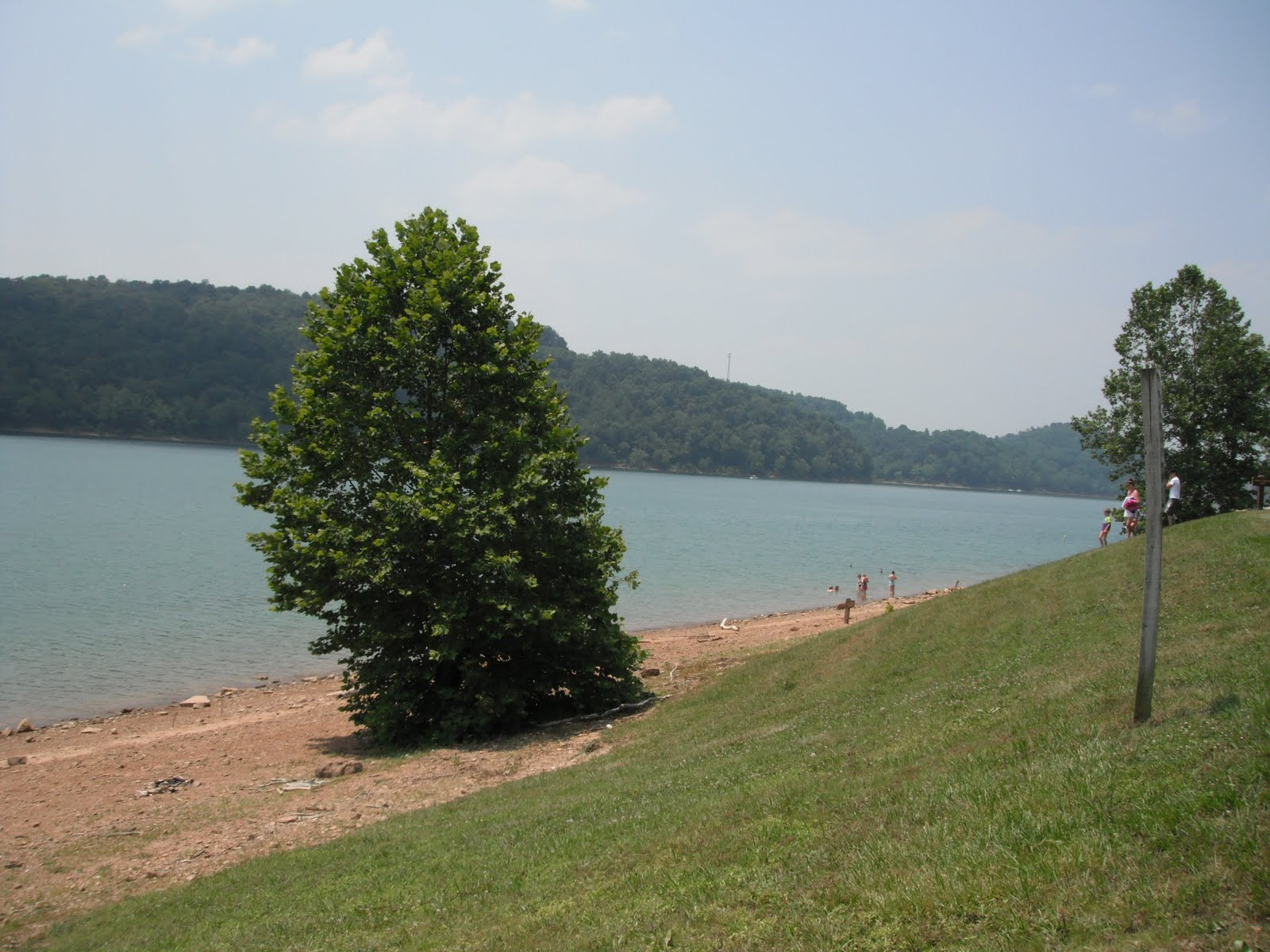 This Is A Beautifully Maintained West Virginia State Park Once We Entered There Was Sign For The Dam Lake Formed Back In 1938 By Damming Up