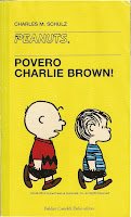 Povero Charlie Brown! book cover.