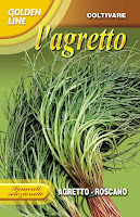 Agretti Seed Packet