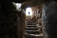 Mycenae Well Stairs