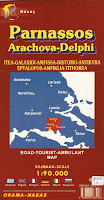Delphi Area Map
