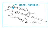 Hotel Orfeas Map
