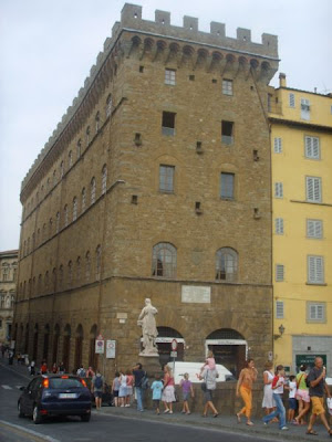 Palazzo Spini Feroni - the basement has the Ferragamo Museum