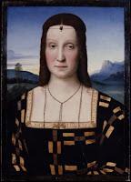 Elisabetta Gonzaga, Bored or Sprezzatura?