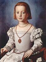 Bia de' Medici Portrait by Bronzino