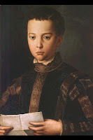 Francesco I de' Medici Portrait by Bronzino