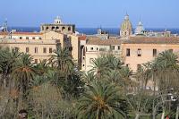 Looking Over Villa Bonanno - Palermo Sicily