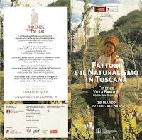 Villa Bardini Fattori Exhibit Brochure
