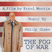 Fog of War Soundtrack Front Cover - Philip Glass