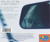 Fog of War Back Cover - Philip Glass