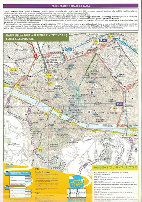 Florence Comune Bike Map