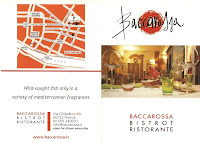Baccarossa Business Card