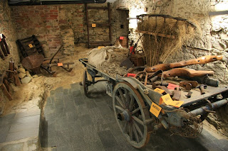 Farm Equipment in the Serra-Pamaparato Museum