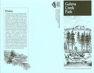Galena Creek Park Brochure