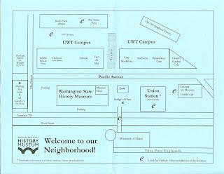 Neighborhood Around Washington State Museum