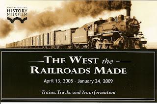 Washington State History Museum - Railroad Exhibit
