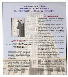 Empire State Building - Brochure
