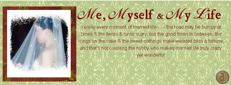 me, myself & my life