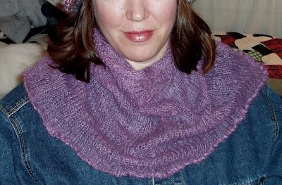 Free Knitting Pattern - Nifty Neck Warmer