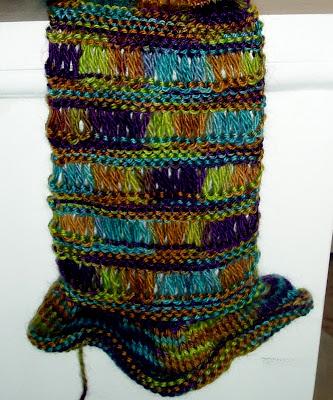 Lula Louise: Knit Bias Scarf Pattern - Sew DIY