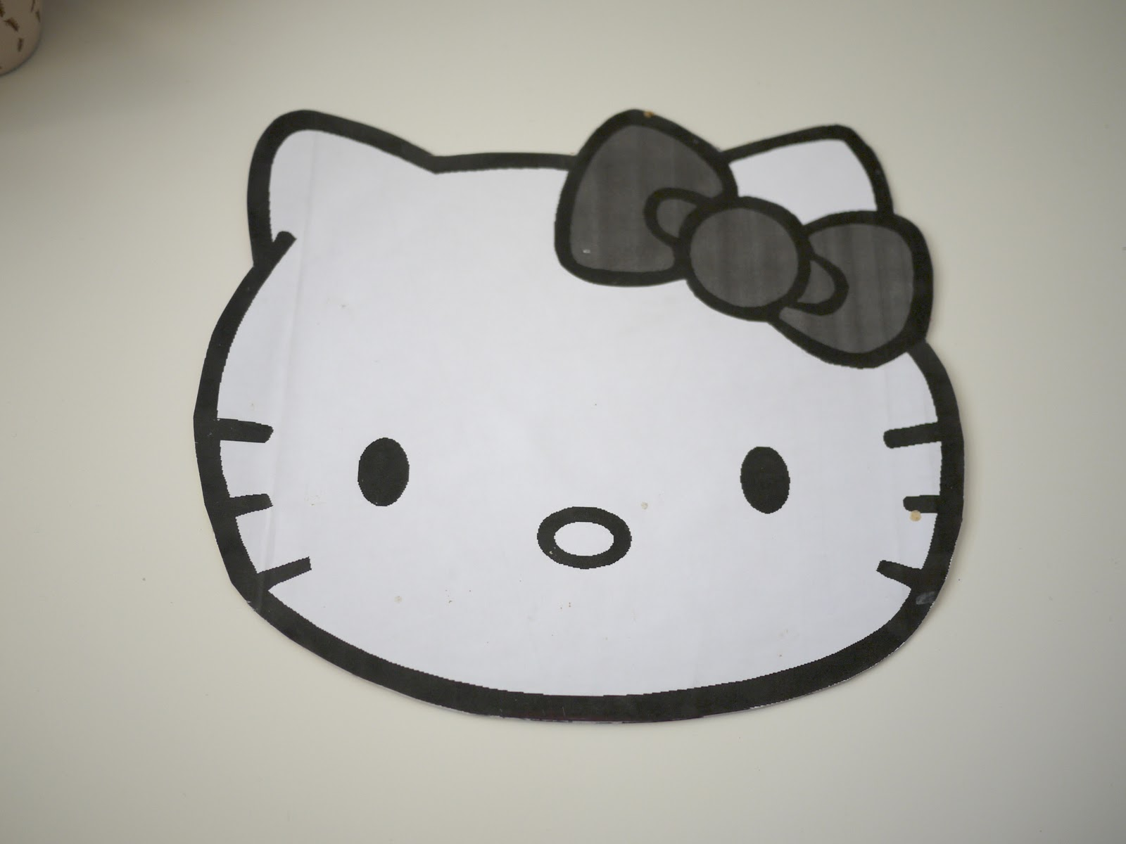 Hello kitty template new calendar template site for Hello kitty cut out template