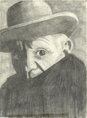 intizarhussain: Picasso Pencil Drawings